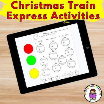 Polar Express Activities for Kindergarten/Preschool