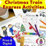 EDITABLE Train Activities/Craft for Kindergarten/P-K  Polar Express book/movie