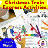 Polar Express Kindergarten Literacy Activities for a Polar Express Day!