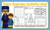 Polar Express Activity Mat - A Page FULL Of Fun Polar Express Activities!
