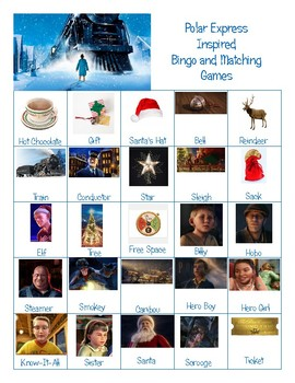 Polar Express Activity Pack