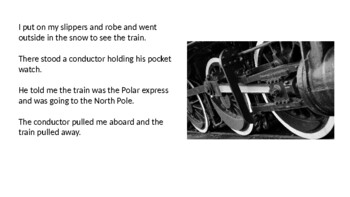 Polar Express - Adapted Book Power Point - Story Review