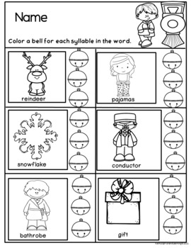 Polar Express Adventures in Literacy and Math for Preschool and Kindergarten