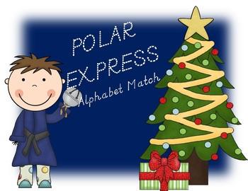Polar Express Alphabet Match