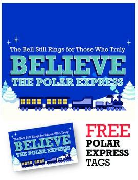 Polar Express Believe Tags *FREEBIE