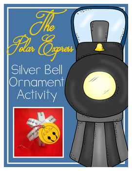 Polar Express Bell Ornament Activity
