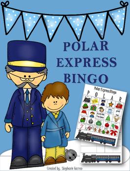 Polar Express Bingo