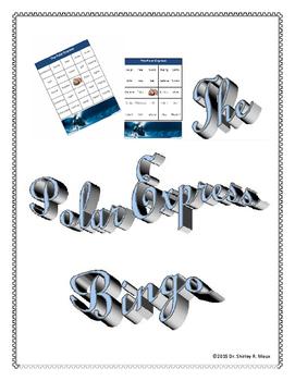 Polar Express Bingo Card Set