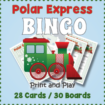 Polar Express Bingo Game
