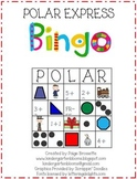 Polar Express Bingo Holiday Fun