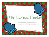 Polar Express Boarding Pass Freebie