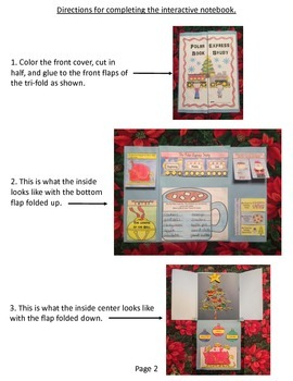 Polar Express Book Study: An Interactive Notebook for K-3rd Grade
