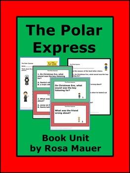 Polar Express Literacy Activities Resource