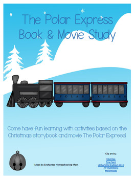 Polar Express Book and Movie Study Printable
