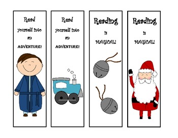 Polar Express Bookmarks - Student Gifts