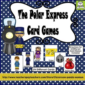 Polar Express Card Games