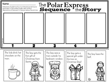 It is a picture of Obsessed Polar Express Printables