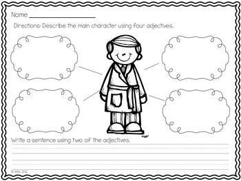 Polar Express Christmas Craftivity Writing Amp Printables
