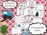 Polar Express Christmas Literacy & Math Unit-12 Activities for 1st & 2nd Grades!