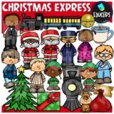 Christmas Express Clip Art Bundle {Educlips Clipart}