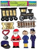 Polar Express Clipart Set