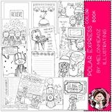 Polar Express - Color Book - Printable - Melonheadz clipart