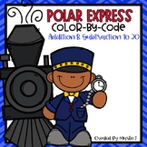 Winter Express Color-By-Number Addition and Subtraction to 20