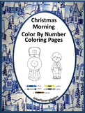 Christmas Color by Number,Christmas Math Centers, Christmas Special Education