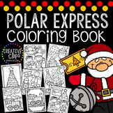 Polar Express Coloring Book {Made by Creative Clips Clipart}