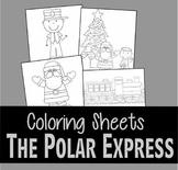 Polar Express Coloring SHeets