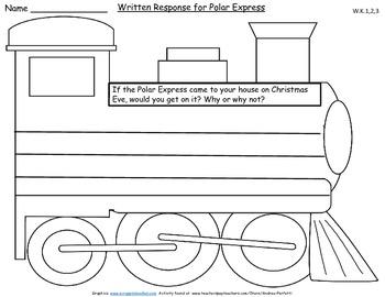 Polar Express Common Core Follow-up Unit