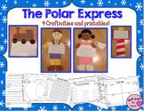 Polar Express Craftivities & Printables Bundle (4 Writing Crafts!)