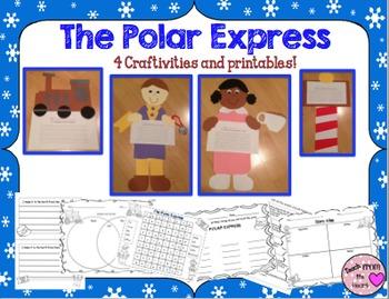 Polar Express Craftivities & Printables Bundle (4 Writing