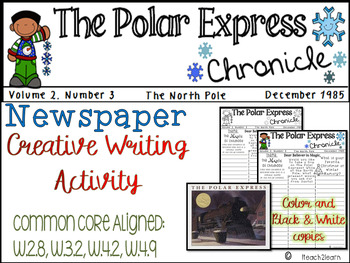 Christmas Writing - Polar Express