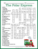 Polar Express Crossword Puzzle
