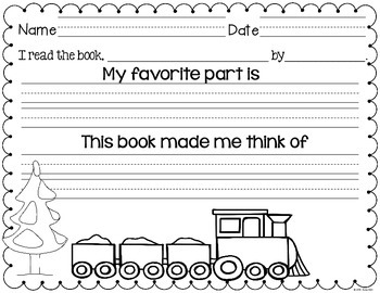 Winter Adventure Literacy Packet: Kindergarten and Grade 1