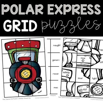 Polar Express ELA and Math Activities