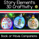 Polar Express, Elf and Rudolph Book or Movie Story Elements Bundle