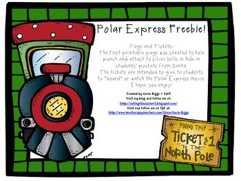 Polar Express FREEBIE!
