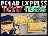 Polar Express Ticket Printable FREEBIE [Train Ticket]