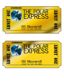 Polar Express Golden Ticket