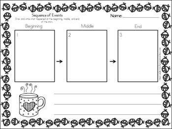 Polar Express Graphic Organizers, Writing Prompts, & Letter to Santa!
