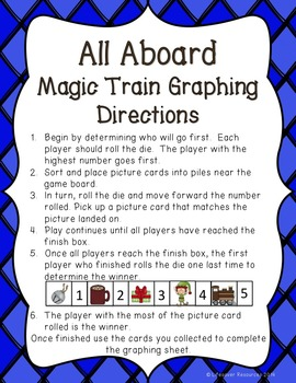Polar Express Graphing Game and Activty