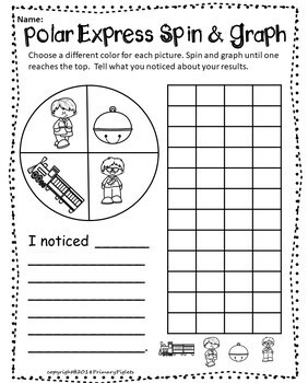 Polar Express Graphing Unit including Spin & Graph