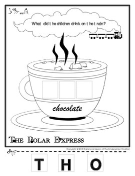 Polar Express Hot Chocolate Activity