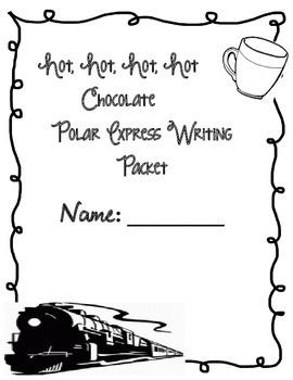 Polar Express Hot Chocolate Writing