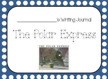 Polar Express Kindergarten Writing Journal