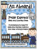 Polar Express Pack: Literacy, Math, and Writing