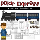 Polar Express Literacy Pack for Kindergarten