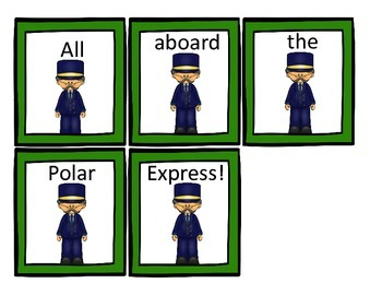 Polar Express Literacy and Math Centers
